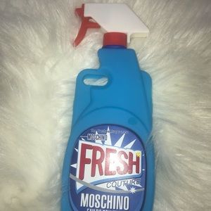 Moschino spray bottle case iPhone 6/6s/7